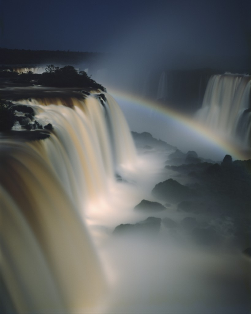 Iquacu falls and Moonbow, Brazil