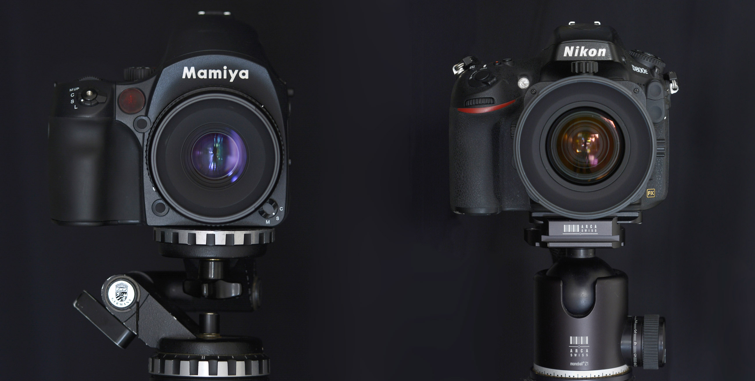 Camera Full Frame Sensor Dslr Cameras full frame dslr versus medium format nikon d800e and the mamiya nikon